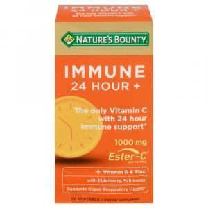 Nature's Bounty Immune 24+ Soft-Gels