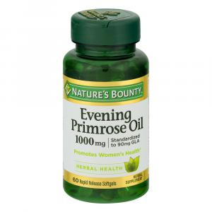 Nature's Bounty Evening Primrose Oil 1000mg Softgels