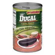 Ducal Black Refried Beans with Jalapeno