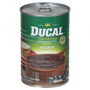Ducal Refried Black Beans