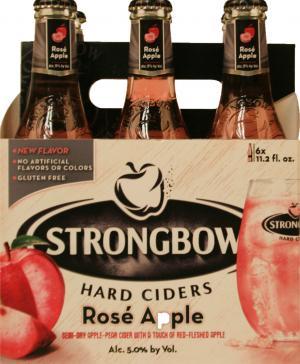 Strongbow Hard Apple Ciders Rose Apple