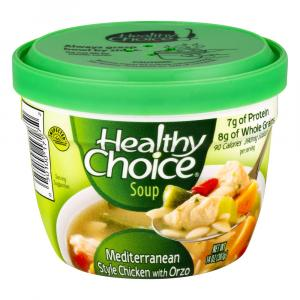 Healthy Choice Microwave Mediterranean Chicken With Orzo
