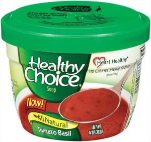 Healthy Choice Tomato Basil Microwave Soup