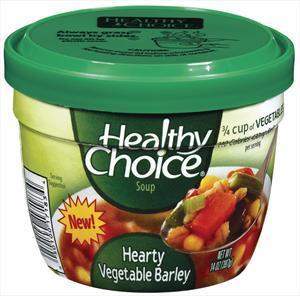 Healthy Choice Vegetable Barley Microwave Soup