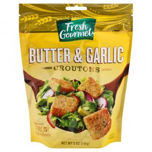 Fresh Gourmet Butter & Garlic Croutons