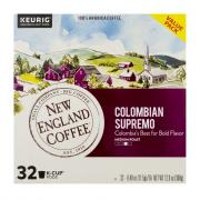 New England Coffee Colombian Supremo K-Cups