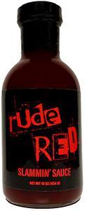 Rude Red Slammin' Sauce