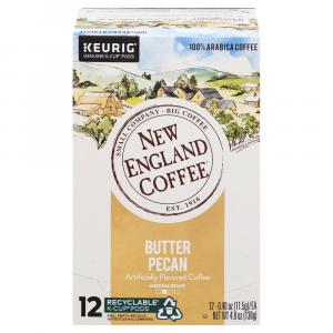 New England Coffee Butter Pecan K-cups