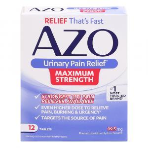 Azo Maximum Strength Tablets