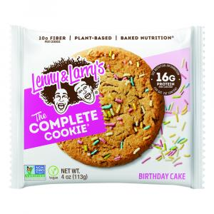Lenny & Larry's The Complete Birthday Cake Cookie