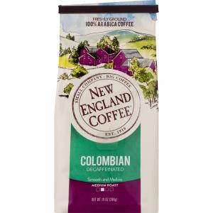 New England Coffee Decaffeinated Colombian Blend