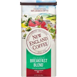 New England Family Coffee Decaffeinated Breakfast Blend