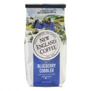 New England Coffee Blueberry Cobbler