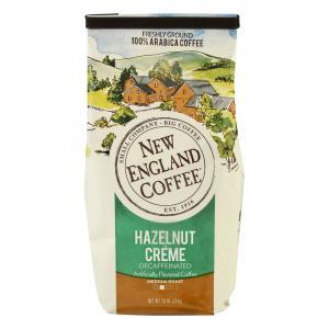 New England Coffee Hazelnut Cream Decaf