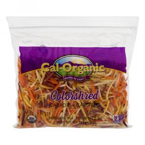 Cal-Organic Farms Organic Rainbow Shredded Carrots