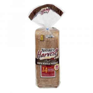 Nature's Harvest Light Whole Wheat Bread
