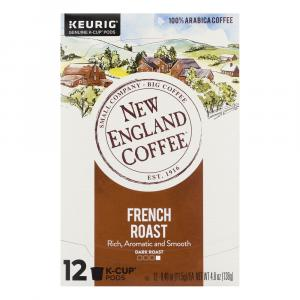 New England Coffee French Roast K-cups