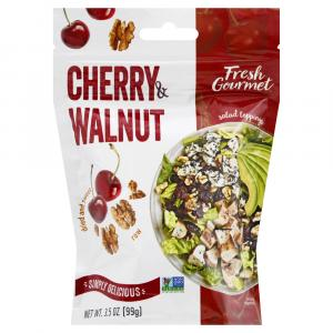 Fresh Gourmet Dried Cherries and Walnut Pieces