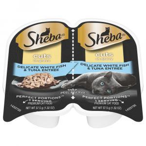 Sheba Perfect Portions Whitefish & Tuna Pate