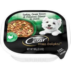 Cesar Home Delights Turkey, Potato and Green Bean Dinner