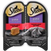 Sheba Perfect Portions Beef Pate