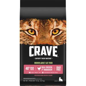 Crave Indoor Chicken & Salmon Cat Food
