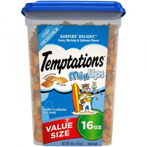 Temptations Surfers Delight Mix Ups Cat Treats