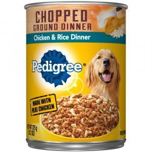 Pedigree Chicken & Rice Dog Food