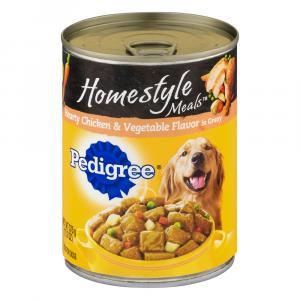 Pedigree Homestyle Hearty Chicken And Vegetable