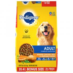 Pedigree Adult Dry Complete Nutrition Dog Food