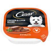 Cesar Select Chicken & Liver Dog Food