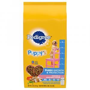 Pedigree Puppy Chicken & Vegetable Dry Dog Food