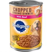 Pedigree Traditional Ground Dinner with Chopped Beef