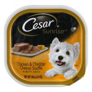 Cesar Sunrise Chicken & Cheddar Can Dog Food