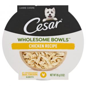 Cesar Wholesome Chicken Bowls Dog Food