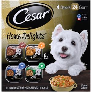Cesar Home Delights Mixed Variety Pack