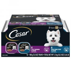 Cesar Gourmet Filets in Sauce Dog Food