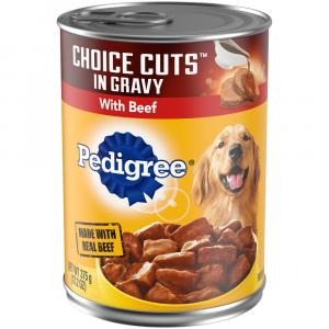 Pedigree Choice Cuts w/Beef Dog Food