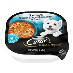 Cesar Home Delights Chicken and Vegetables Dinner