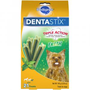 Pedigree Dentastix Mini Fresh Snack Food for Dogs