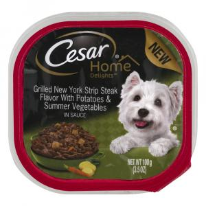 Cesar Home Delights Grilled New York Strip Steak Flavor