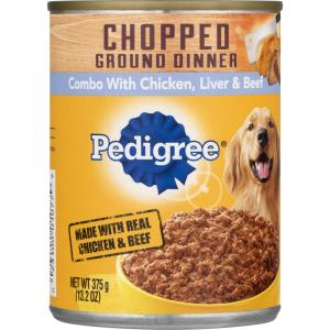 Pedigree Chopped Combo Chicken Beef Liver