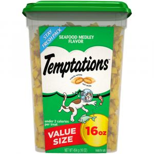 Whiskas Temptations Seafood Medley Value Size