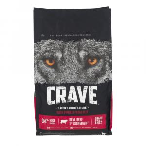 Crave Dry Beef Dog Food