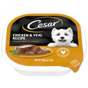 Cesar Select Chicken & Veal Dog Food
