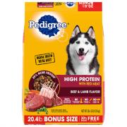 Pedigree High Protein with Red Meat Beef & Lamb Dry