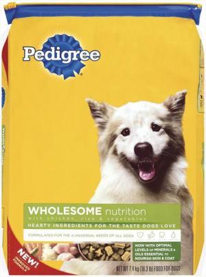 Pedigree Mealtime Chicken Rice & Vegetables Dog Food