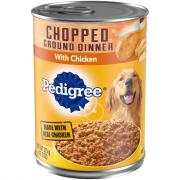 Pedigree Traditional Ground Dinner with Chopped Chicken