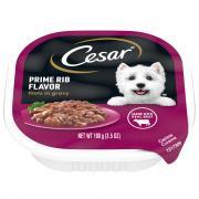 Cesar Prime Rib in Sauce Dog Food