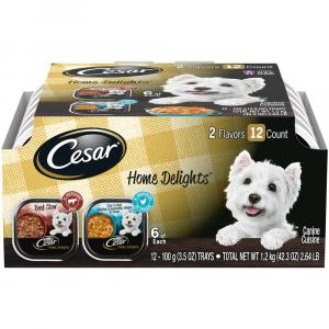 Cesar Home Delights Beef Stew And Chicken Vegetable Multi